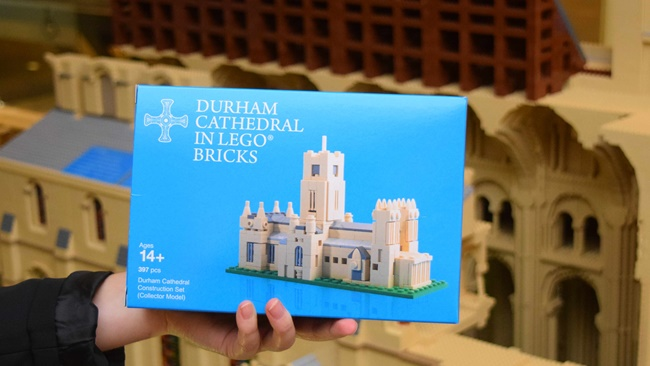 Cathedral launches mini LEGO model