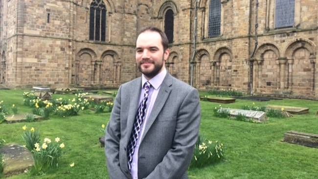 Daniel Cook appointed Master of the Choristers and Organist at Durham Cathedral