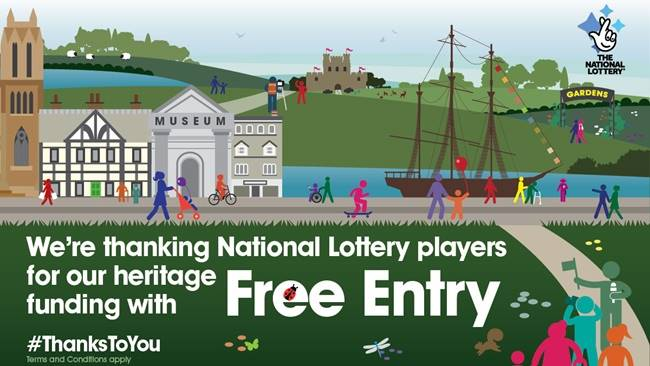 Free entry to Open Treasure this December for National Lottery players, as part of national #ThanksToYou campaign