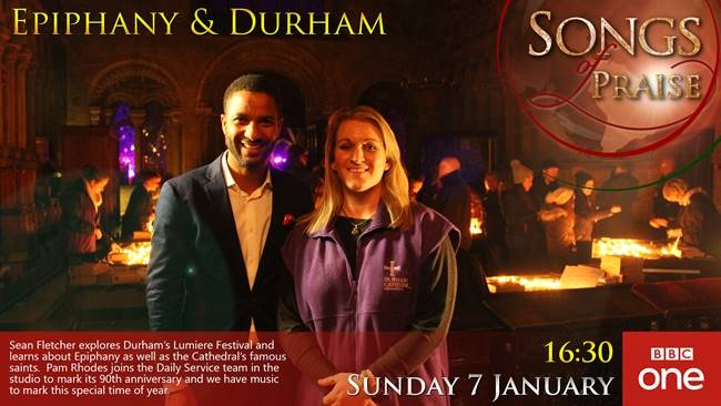 Durham Cathedral shines in the BBC's Songs of Praise