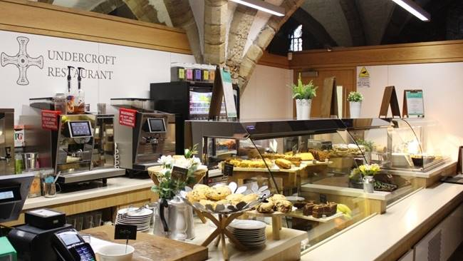 Durham Cathedral showcases local suppliers for restaurant relaunch