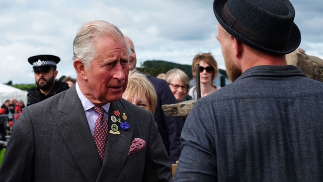 Royal visit  HRH The Prince of Wales to visit Durham Cathedral and Durham University