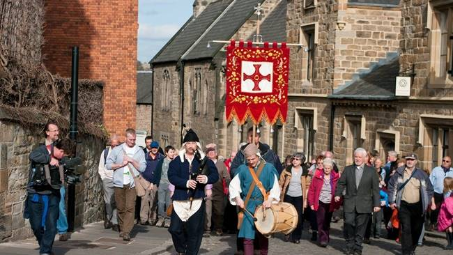 Annual celebration of St Cuthbert
