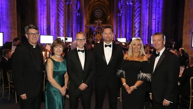 Chamber annual dinner raises £75k for Durham Cathedral