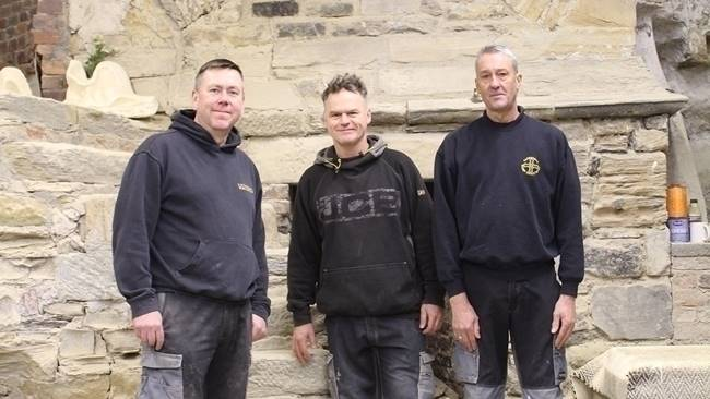 The skill of Cathedral craftsmen recognised by the guild of Durham City Freeman