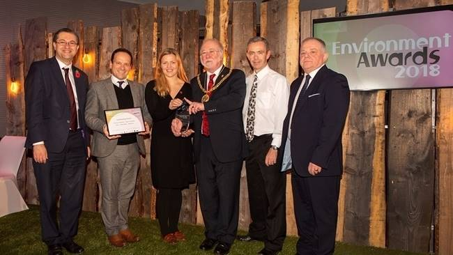 Durham Cathedral celebrates a triple win at the County Durham Environment Awards
