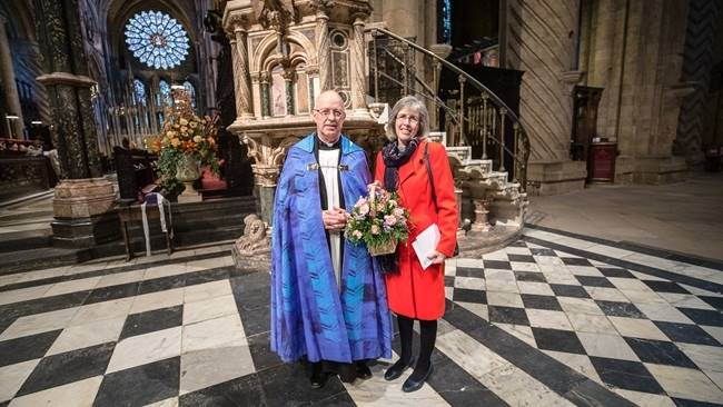 Cathedral and Diocese bid fond farewell to Ian & Ruth Jagger