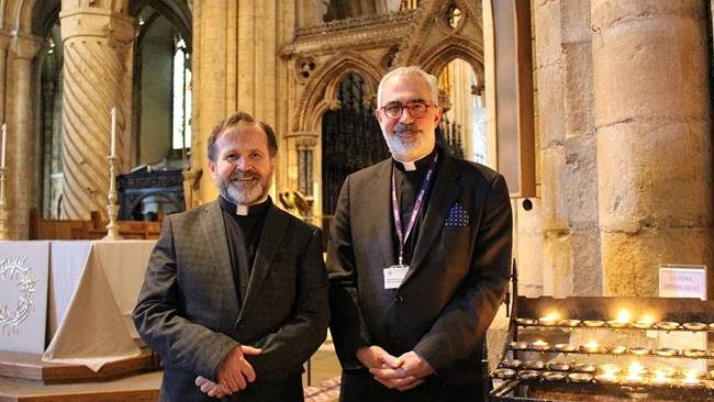 Durham Cathedral welcomes the Venerable Michael Everitt as new Canon Pastor