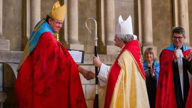 Sarah formally welcomed as Bishop of Jarrow