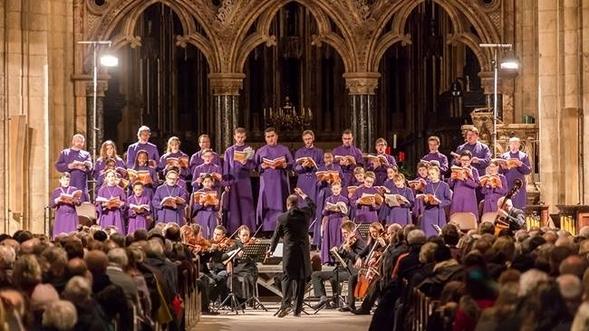 Durham Cathedral Choir prepares for upcoming St. John Passion Concert