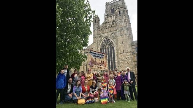 Durham Cathedral is supporting Durham Pride 2019