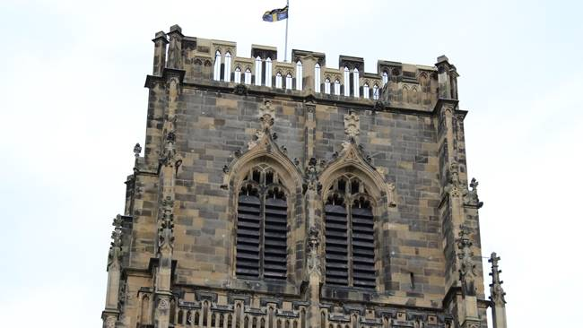 First look at the results of the repair work to Durham Cathedral's central tower, ahead of its Saturday reopening