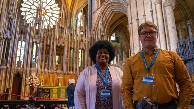 Trainee vicars undertake marketing and communications work placement