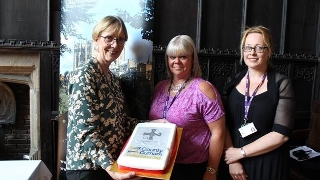 Durham Cathedral achieves County Durham volunteering award