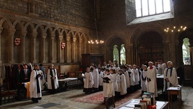 Durham Cathedral bid farewell to Sub-Organist and members of Durham Cathedral Choir at special evensong service
