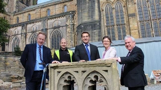 Durham Cathedral's Stone Auction offers public the opportunity to own a piece of history