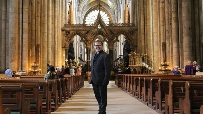 Durham Cathedral prepares for the installation of the Venerable Michael Everitt