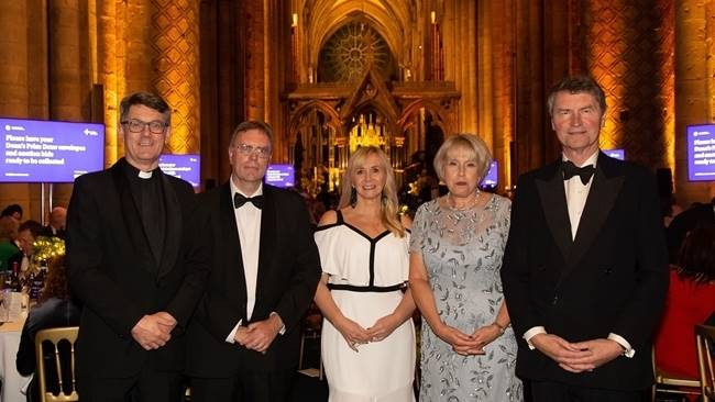 £154k raised for Durham Cathedral restoration at Chamber Dinner