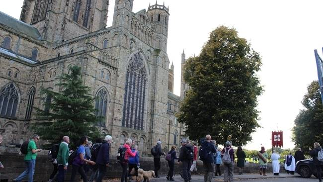 There's now an official Camino route in County Durham