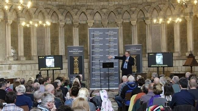 Durham Cathedral's Stone Auction raises over £125,000 for cathedral restoration