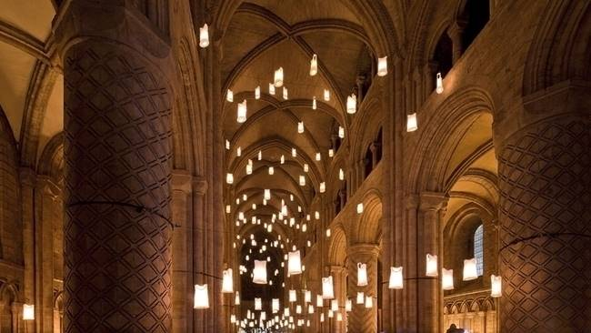Get ready for a resurgence of Lumiere favourites at Durham Cathedral this November