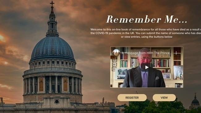 Remember Me: An online national Book of Remembrance is now open