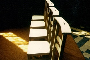 Assembly Memorial Book and Chairs, Conceived by Val Carman