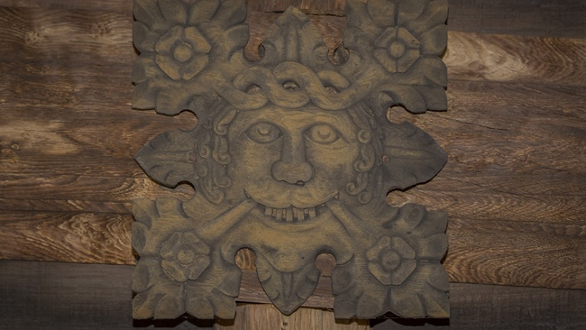 Make & Take - green man clay tile workshop