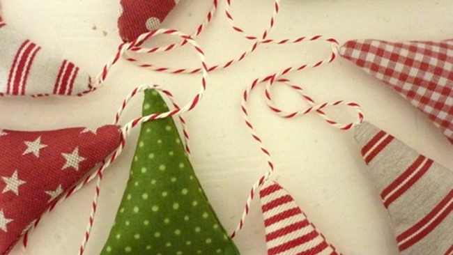Make and Take - Textile Christmas Decorations