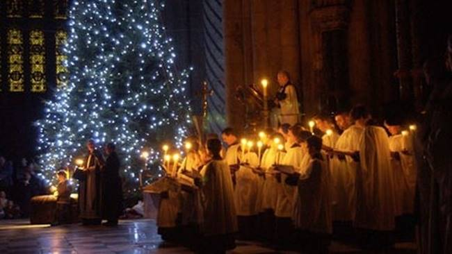 Special Service: Lighting of the Christmas Tree and Blessing of the Crib