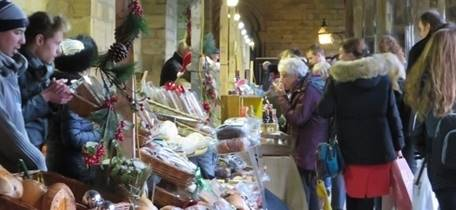 Durham City Christmas Festival - Cloister local producers market