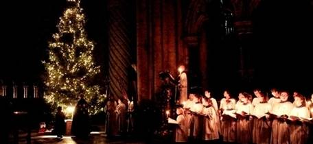 Evensong with the Lighting of the Christmas Tree and Blessing of the Crib