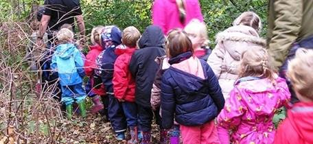Under 5s forest school taster session