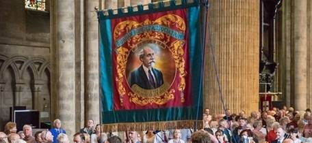 Special Service: Evensong and celebration of 150 years of the Durham Miners' Association