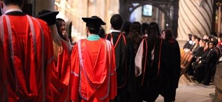 Durham University Winter Congregation Ceremonies
