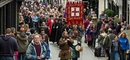 St Cuthbert Day Walk and Procession