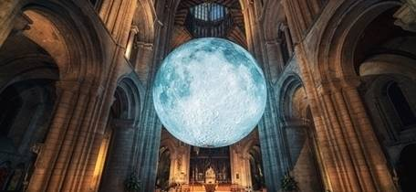 Cathedrals at Night: Museum of the Moon