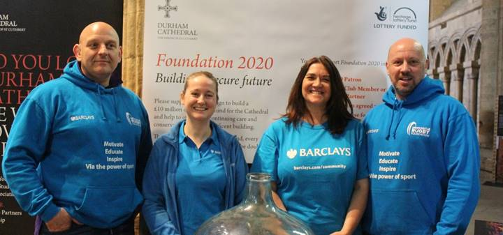 Barclays volunteers at the Giving Day Spring 2018