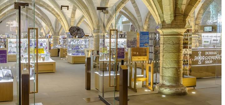 Cathedral shop in the Undercroft