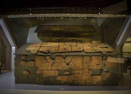 The anglo-saxon coffin of St Cuthbert