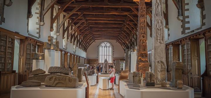 Story of Christianity in NE England and Durham interactive exhibition