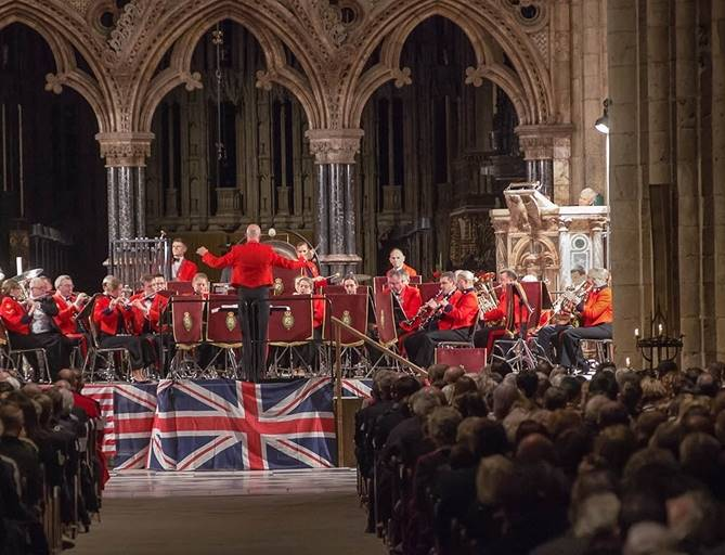 A concert at Durham Cathedral
