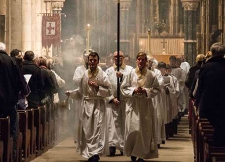Procession in the Quire