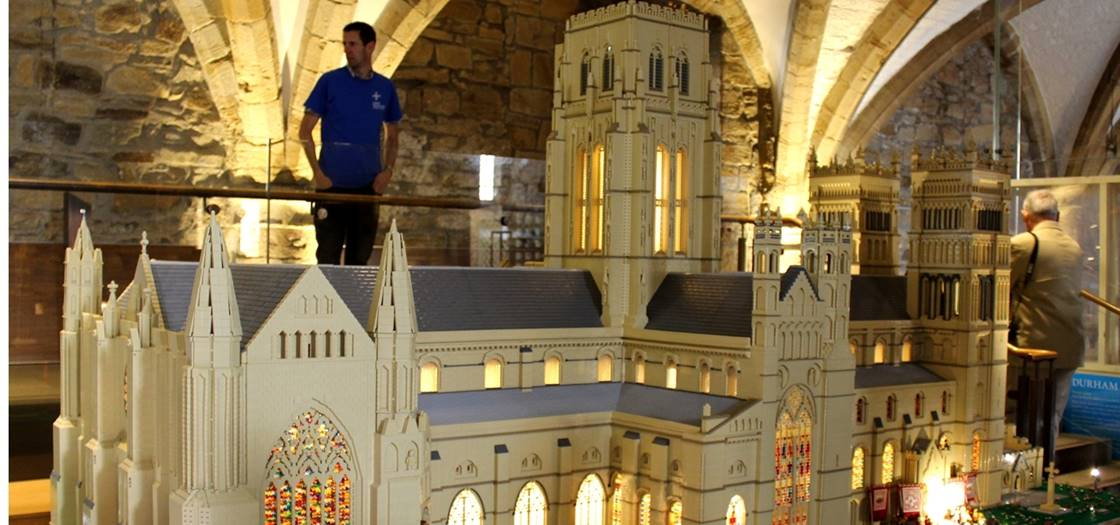 Durham Cathedral In Lego Durham Cathedral