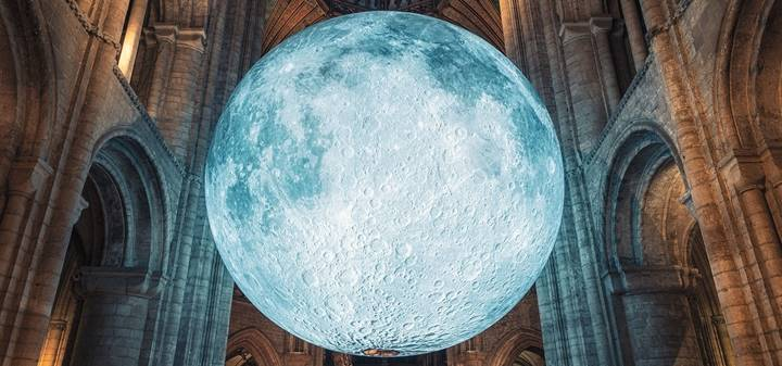 Museum of the Moon by Luke Jerram