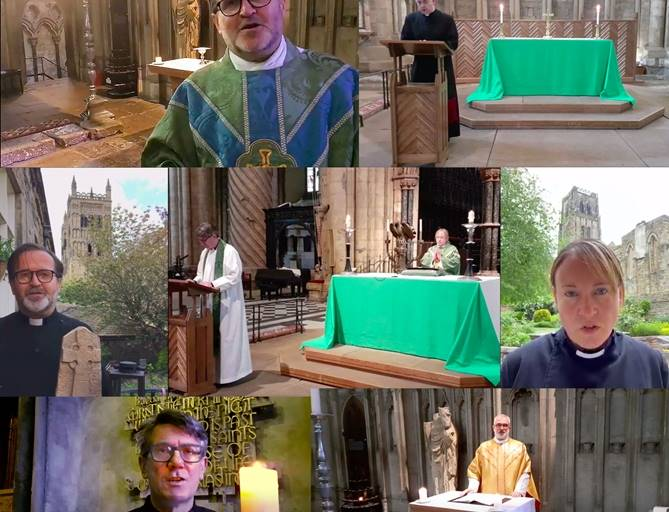 Online services from Durham Cathedral