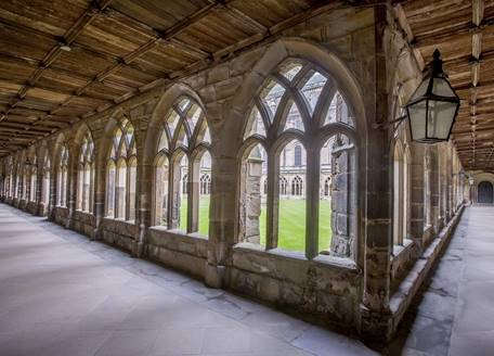 Panoramic view of the Cloister