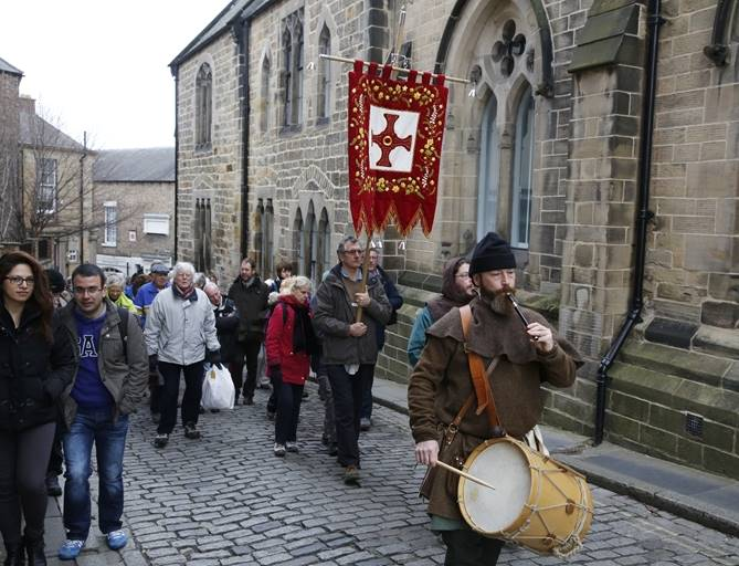 St Cuthbert Procession 2015