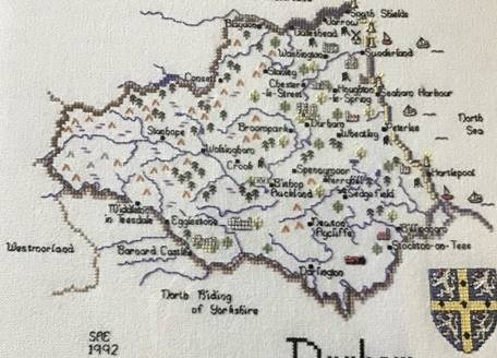 Embroidery of County Durham