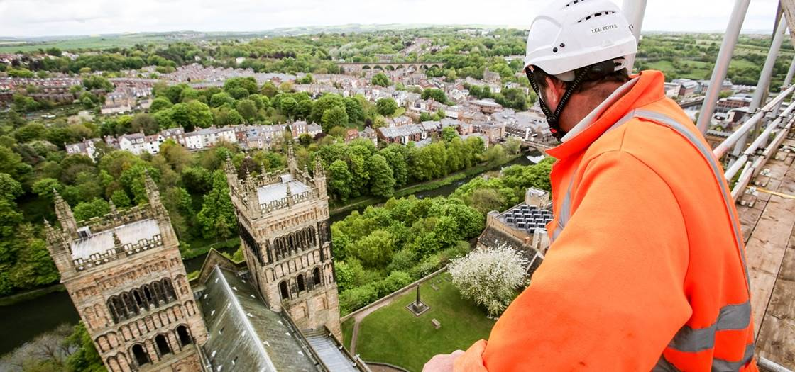 Central Tower Repairs Durham Cathedral